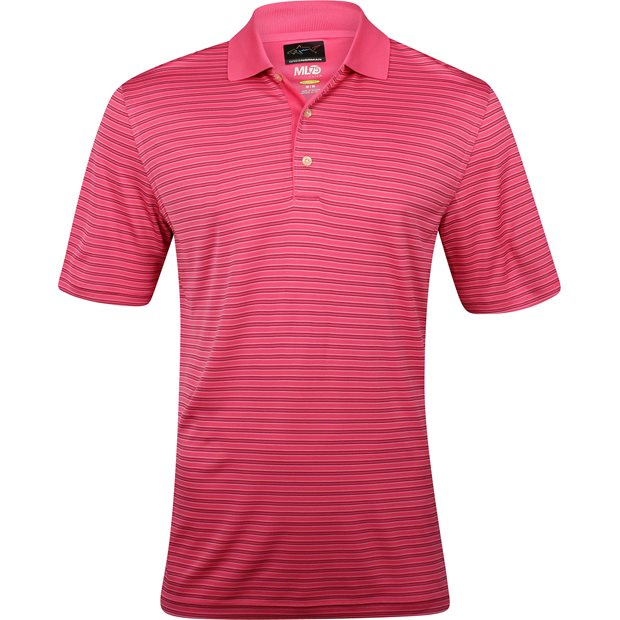 Greg Norman Protek ML75 Microlux Stripe 465 Shirt Apparel