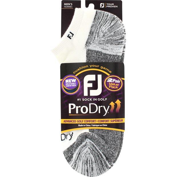 FootJoy ProDry Low Cut Two Pack Socks Apparel