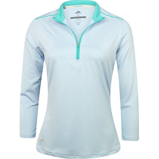Adidas ¾ Sleeve Zippered Shirt Apparel