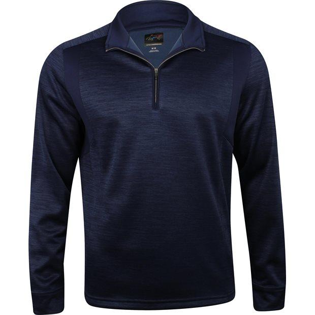 Greg Norman ¼ Zip Heathered Fleece Mock Neck Outerwear Apparel