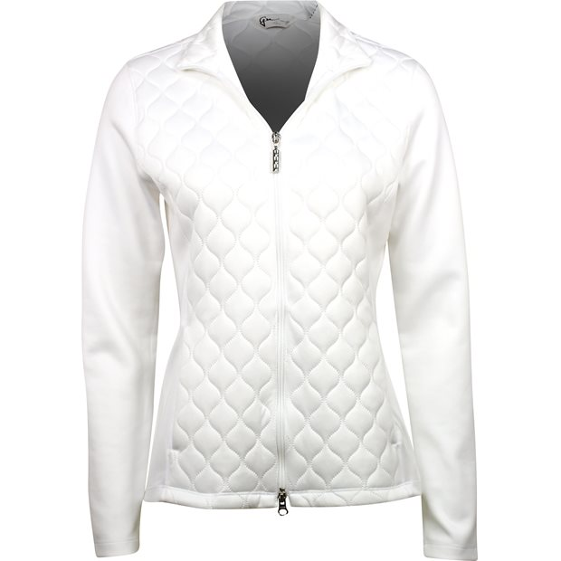 Greg Norman Quilted Knit Outerwear Apparel