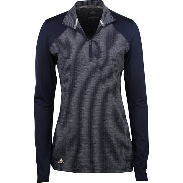 Adidas Half Zip Knit Pullover Outerwear Apparel