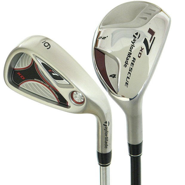 TaylorMade r7 XD Combo Iron Set Preowned Golf Club