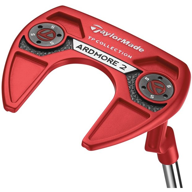 """TaylorMade TP Red Collection Ardmore 2 """"L"""" Neck SuperStroke Putter Preowned Golf Club"""