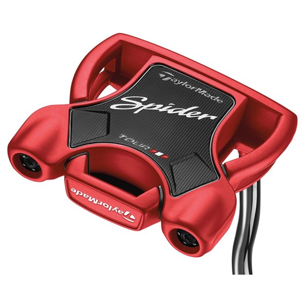 TaylorMade Spider Tour Red Double Bend Putter Preowned Golf Club