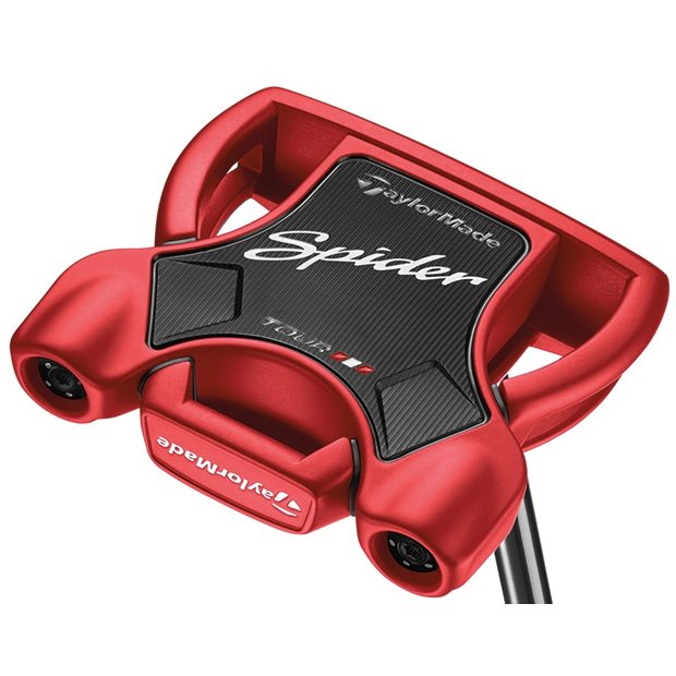 TaylorMade Spider Tour Red Center Shaft Putter Preowned Golf Club