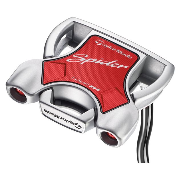 TaylorMade Spider Tour Diamond Silver Double Bend Putter Preowned Golf Club