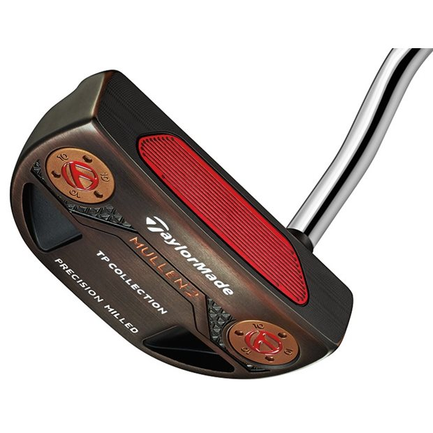 TaylorMade TP Black Copper Collection Mullen 2 SuperStroke Putter Preowned Golf Club