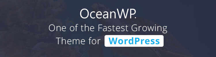 OceanWP-Banner Some Useful Links for You to Get Started