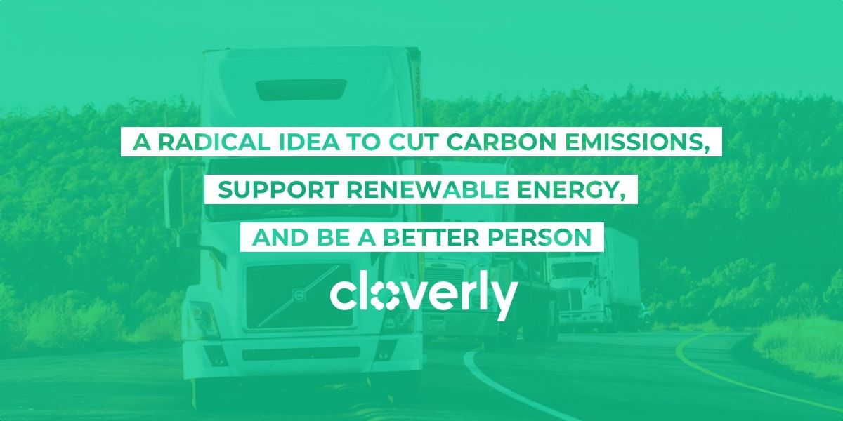A radical idea to cut carbon emissions, support renewable energy, and be a better person