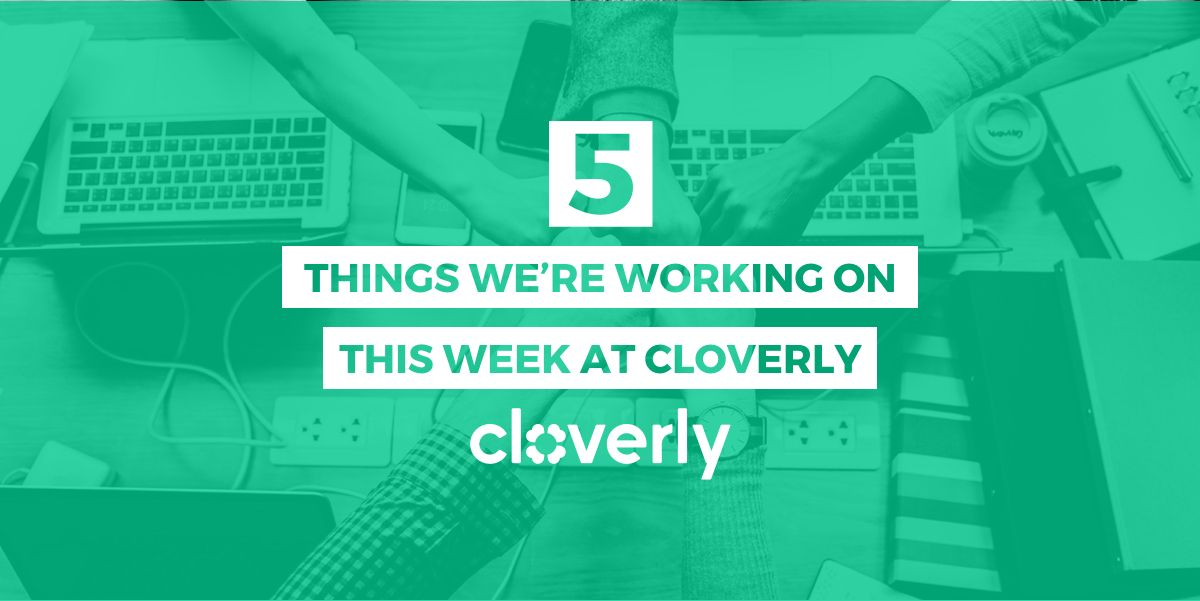 5 things we're working on this week at Cloverly