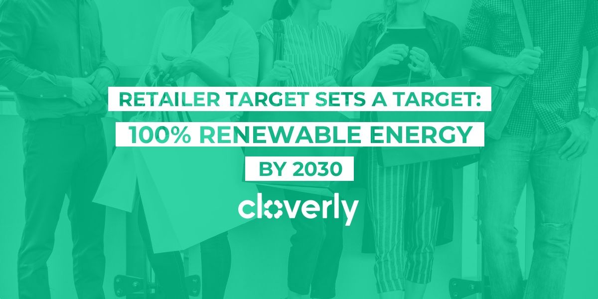 Retailer Target sets a target: 100% renewable energy by 2030
