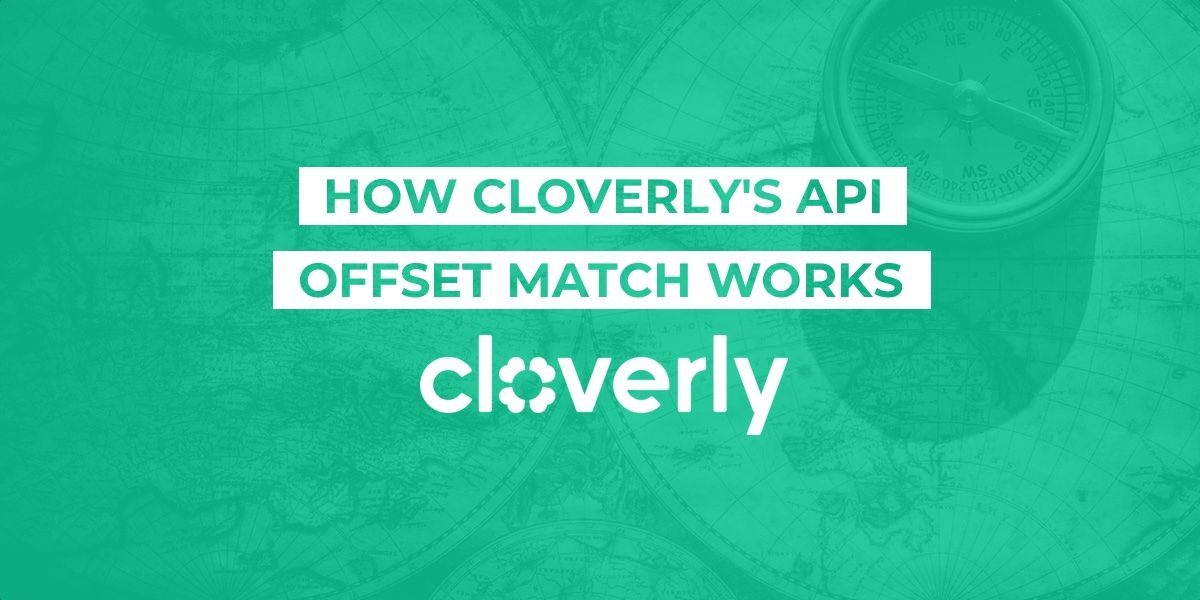 How Cloverly's API offset match works