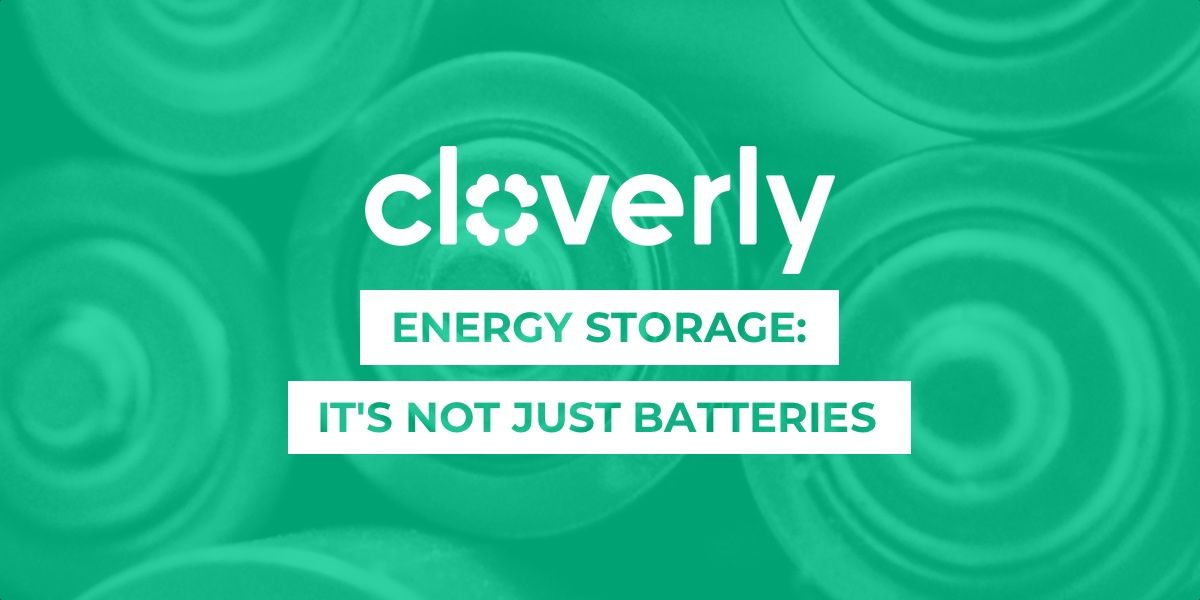 Energy storage: It's not just batteries