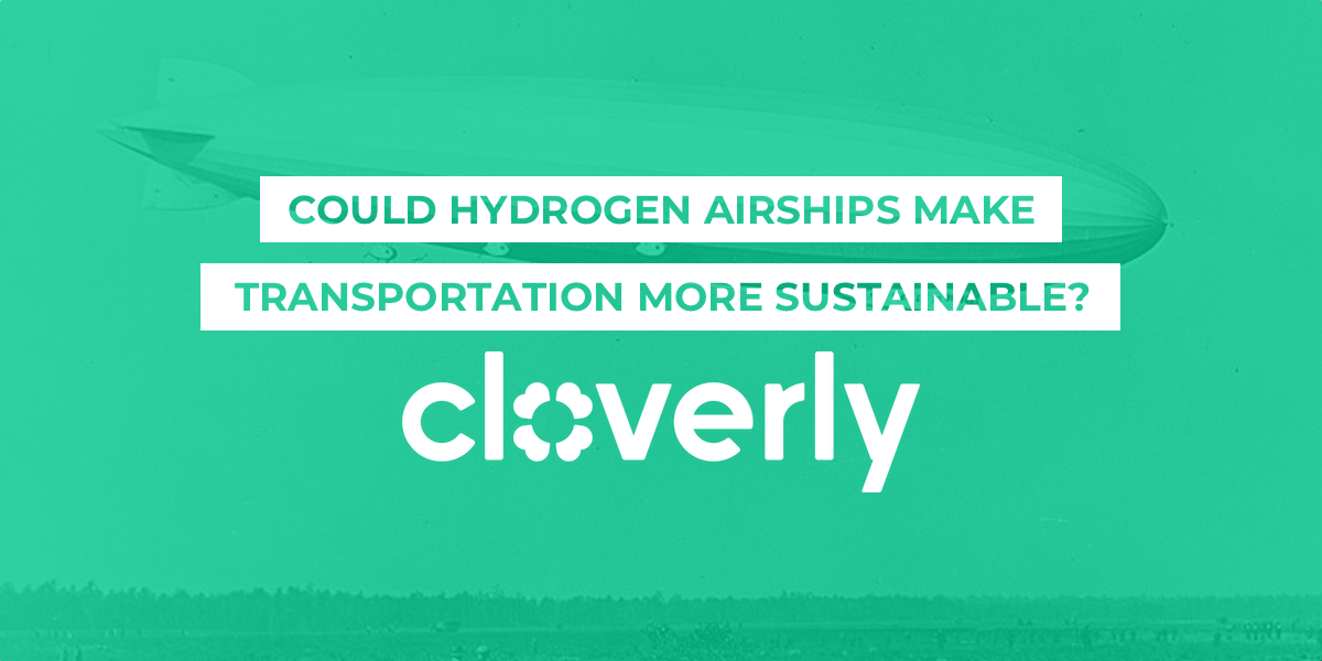 Could hydrogen airships make transportation more sustainable?