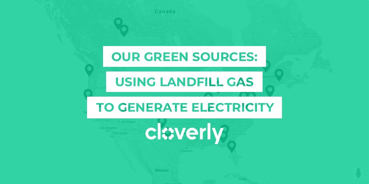 Our green sources: Using landfill gas to generate electricity
