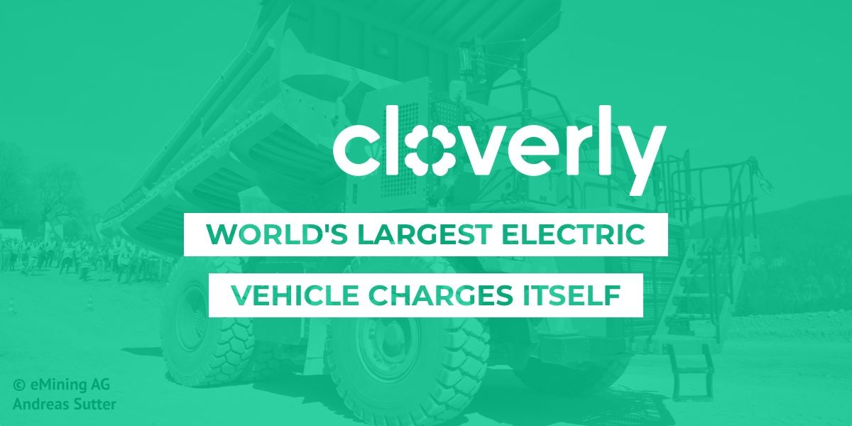 World's largest electric vehicle charges itself