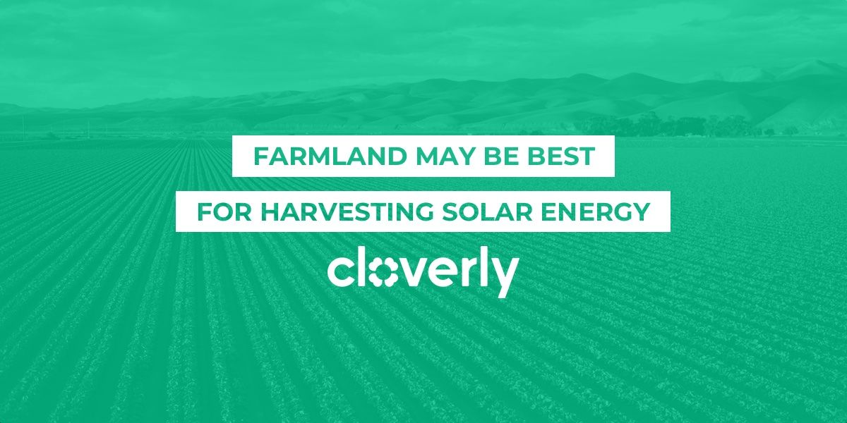 Farmland may be best for harvesting solar energy