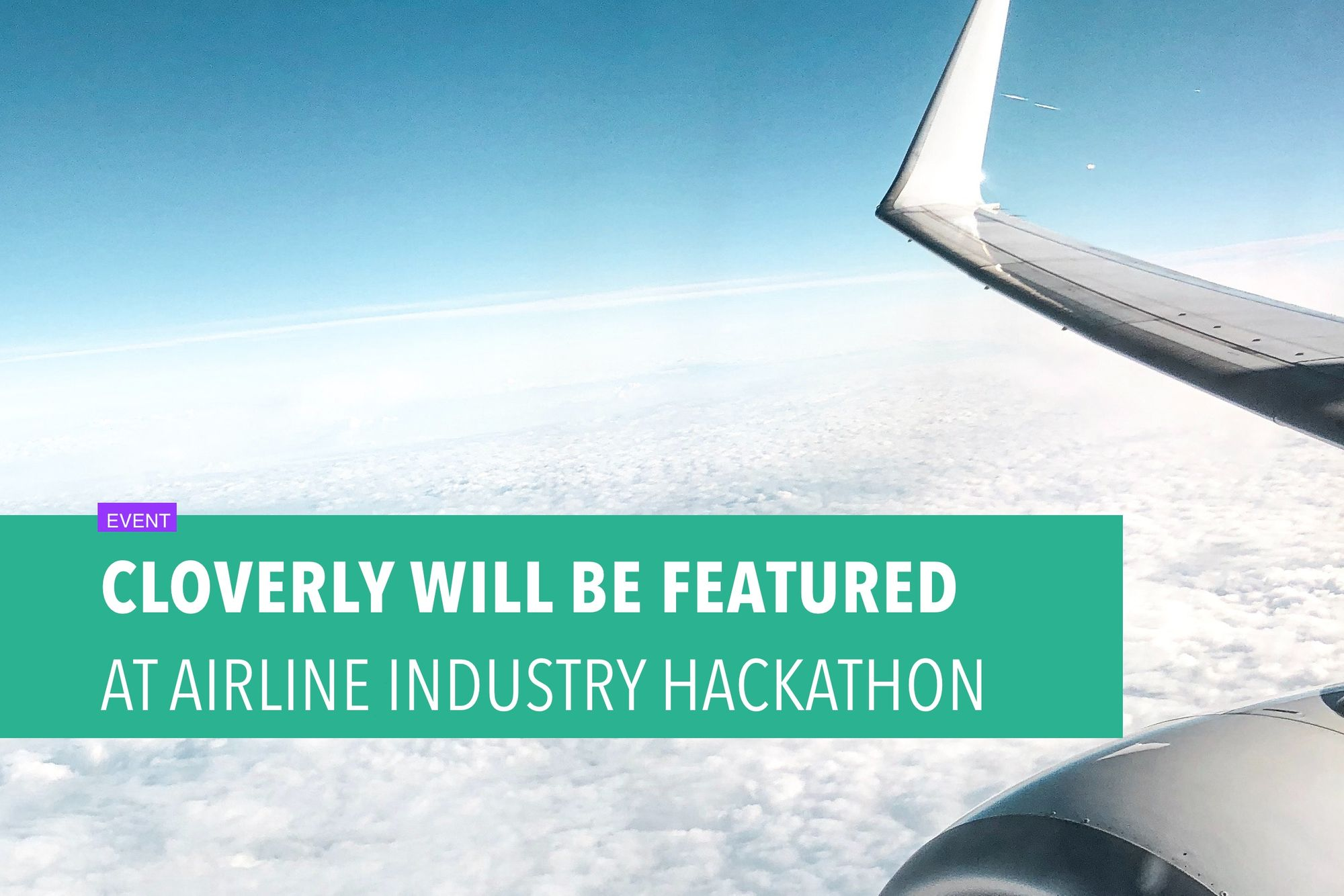 Cloverly will be featured at airline industry hackathon