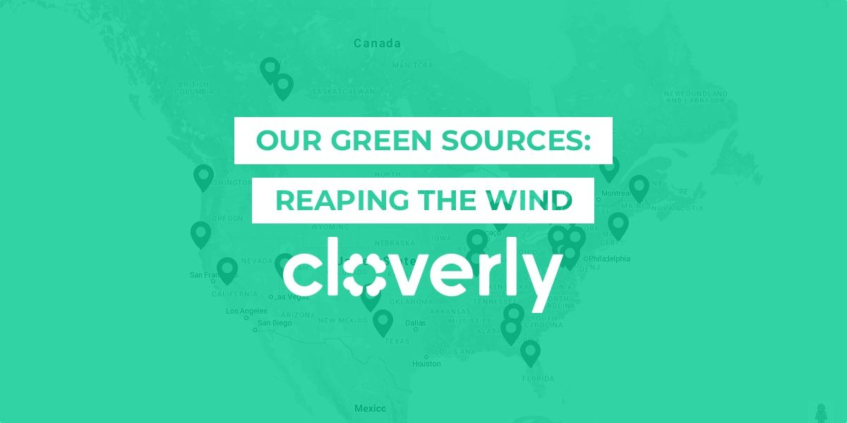 Our green sources: Reaping the wind