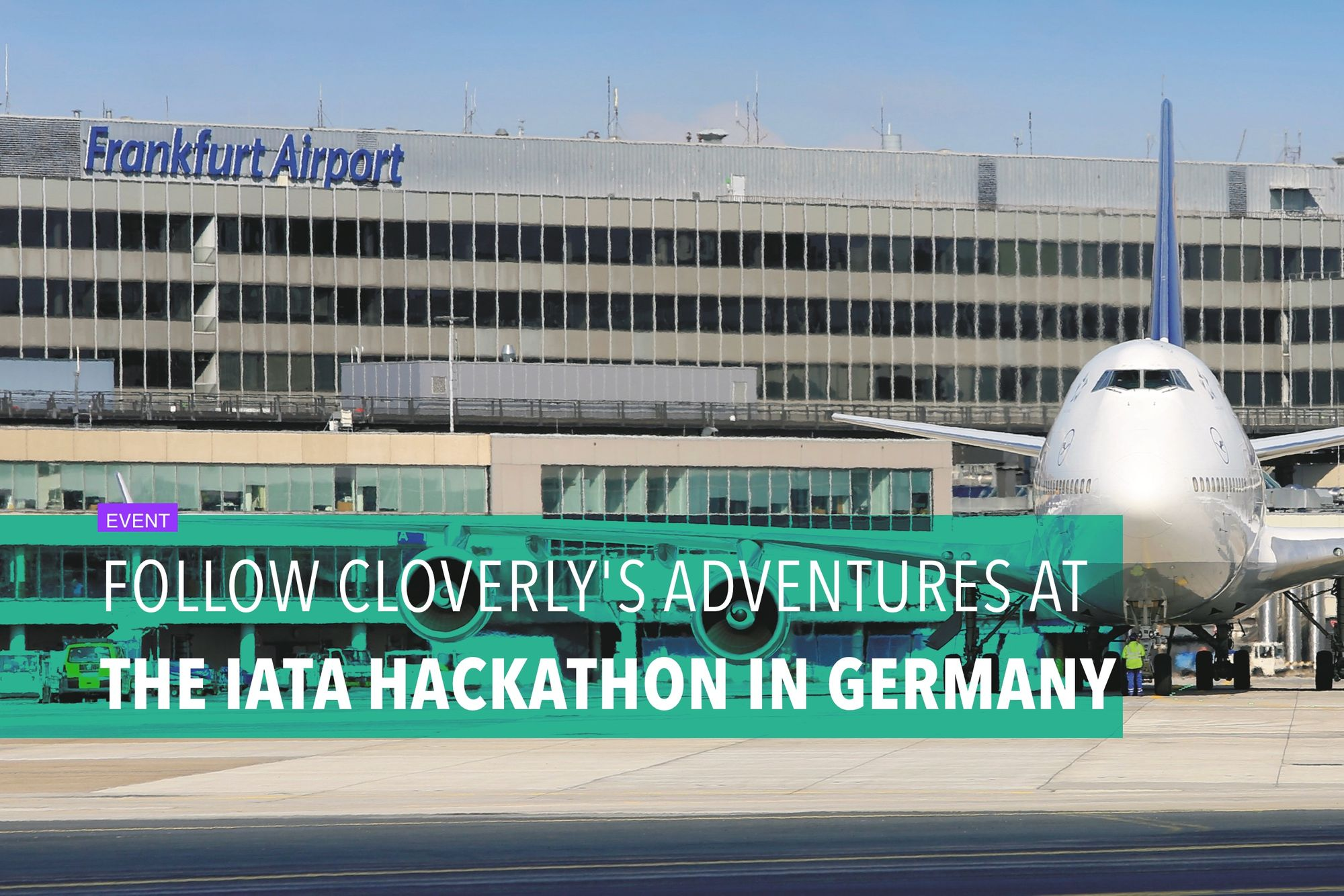 Follow Cloverly's adventures at the IATA hackathon in Germany