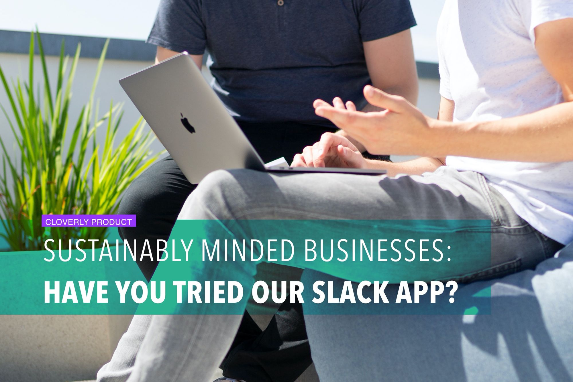 Sustainably minded businesses: Have you tried our Slack app?