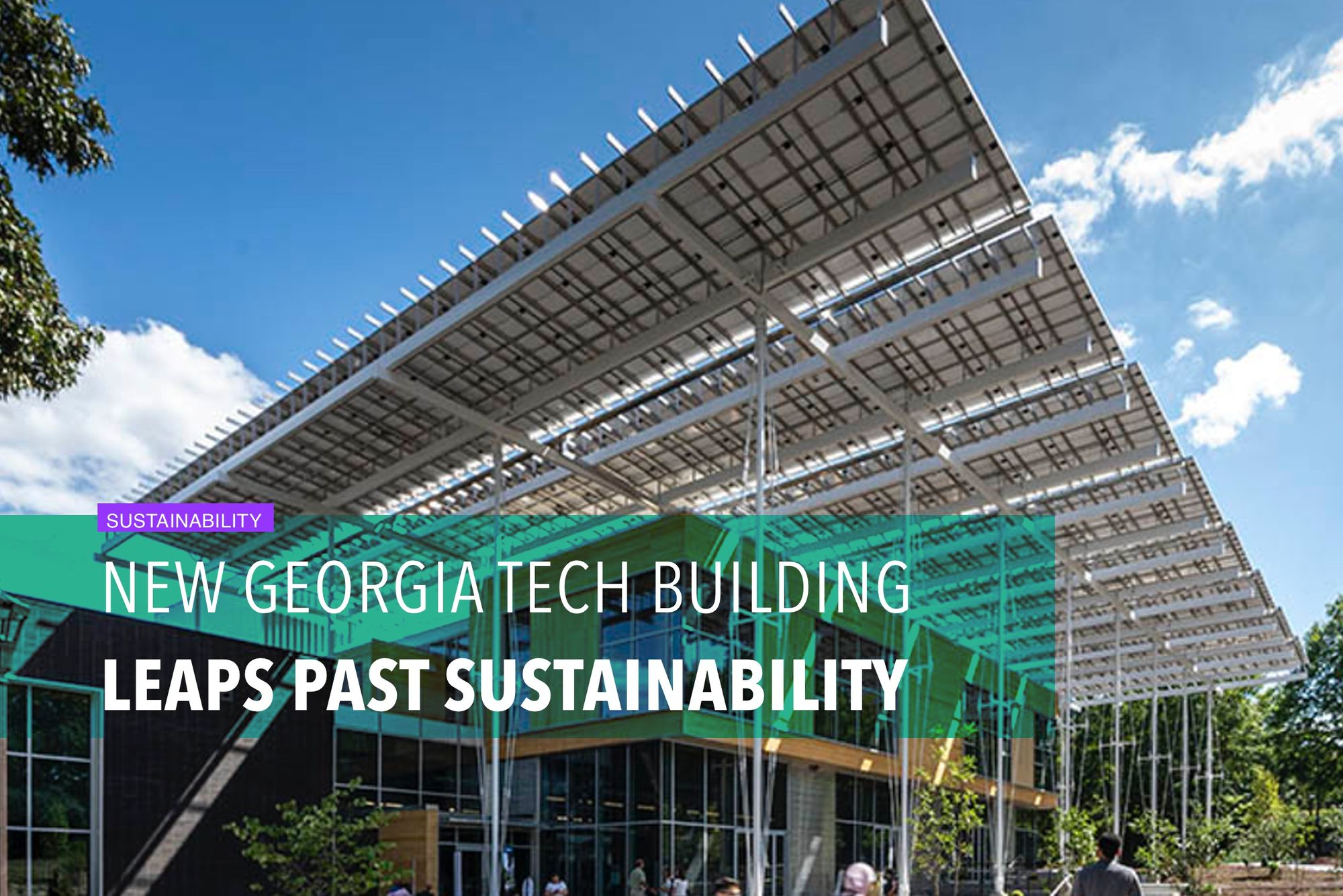 New Georgia Tech building leaps past sustainability