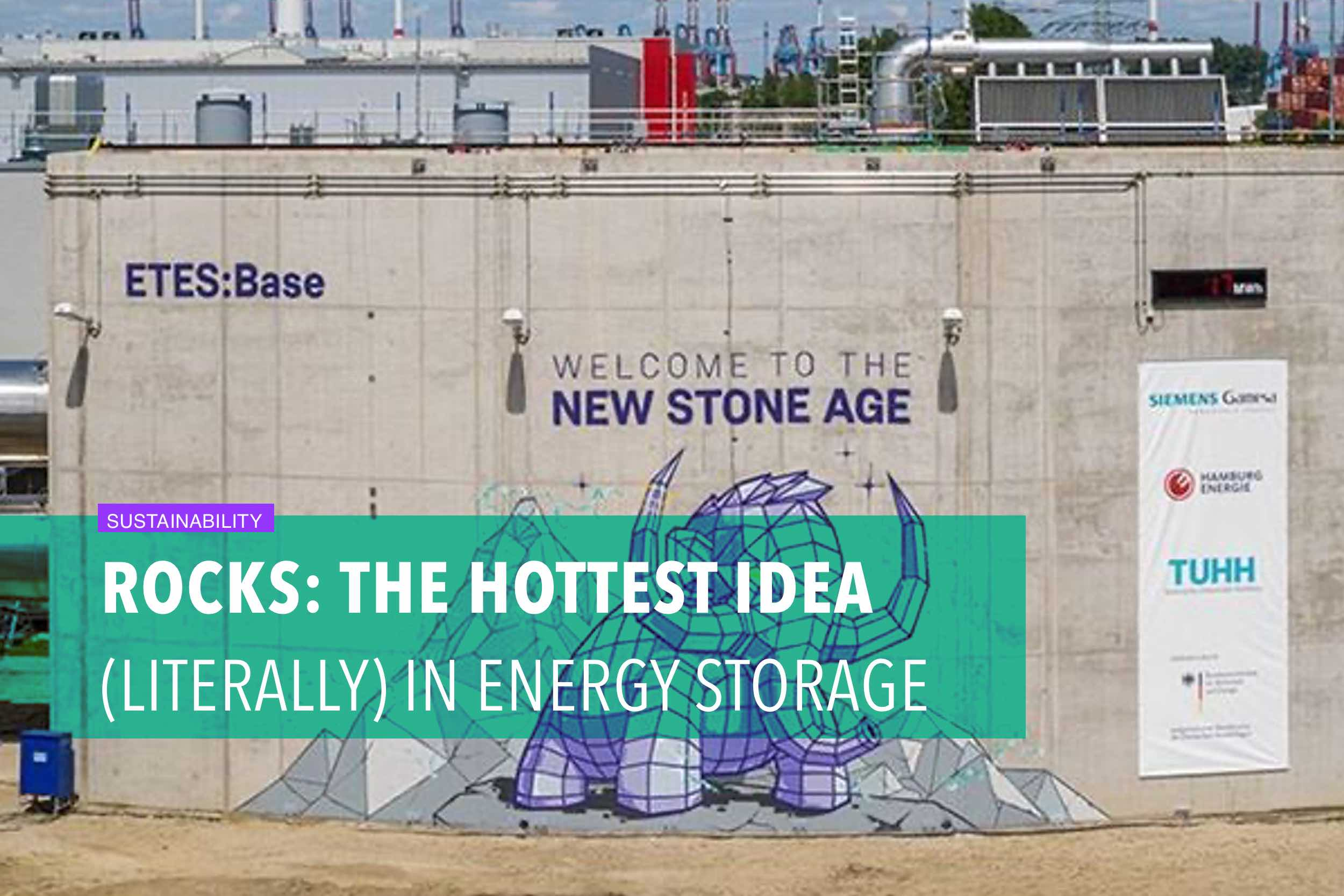 Rocks: the hottest idea (literally) in energy storage