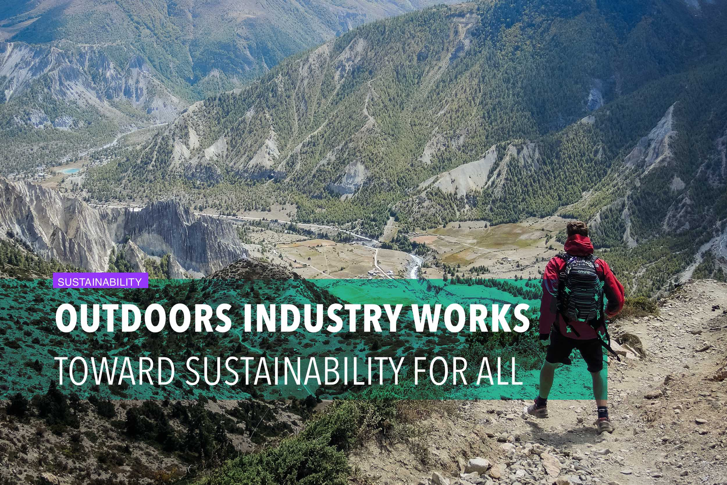 Outdoors industry works toward sustainability for all