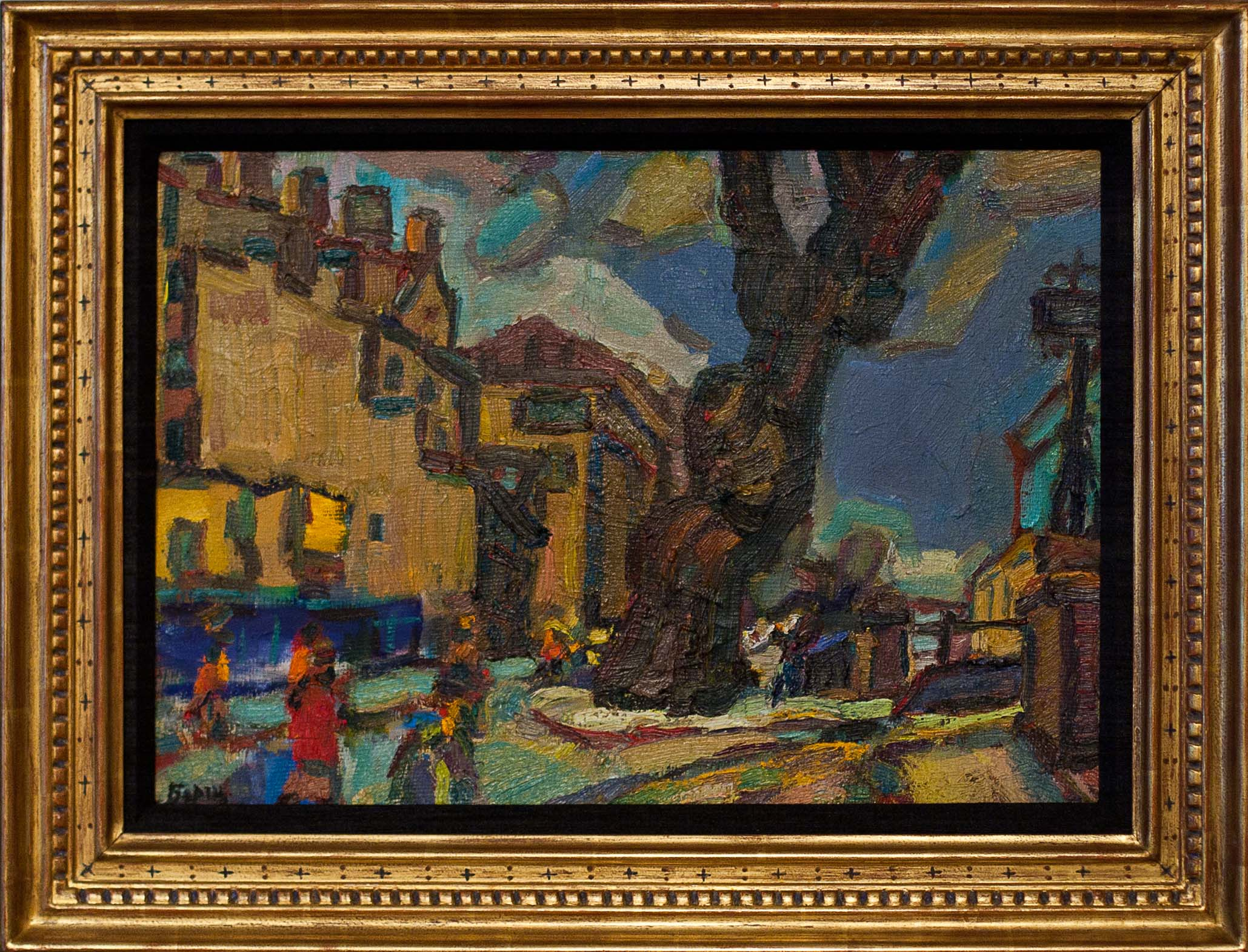 untitled by Borsch. oil on canvas. 20.0 in x 14.0 in. 1995