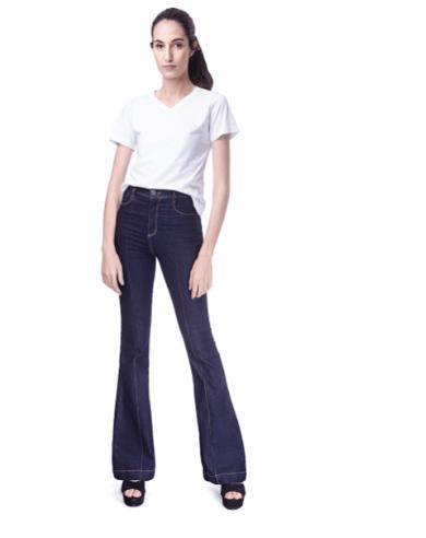 Calça Jeans Flare Feminina Youth