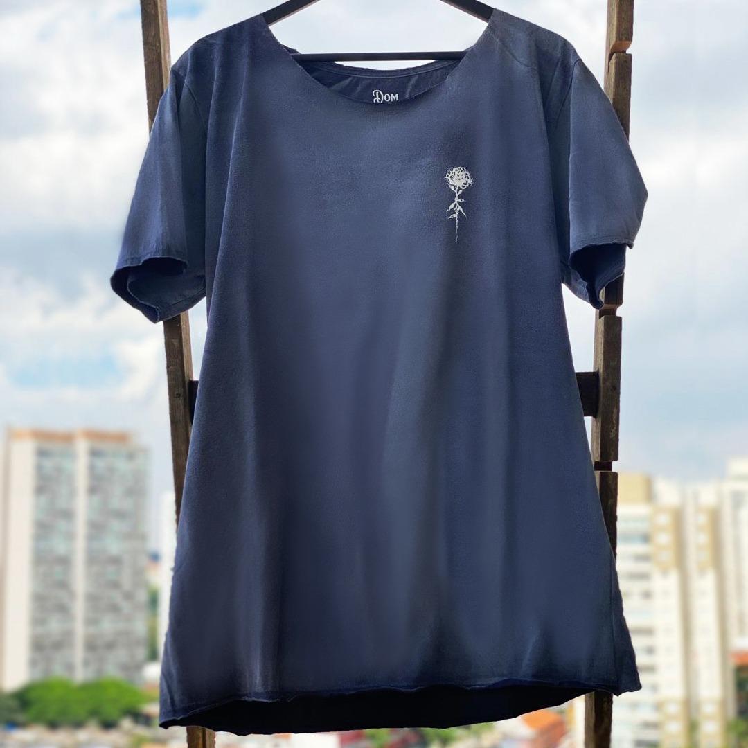 Camiseta Azul Jateada