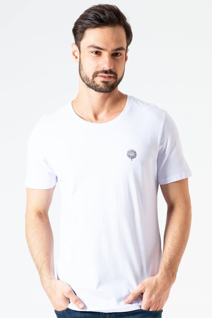 Camiseta Básica Branca Clássica KSA