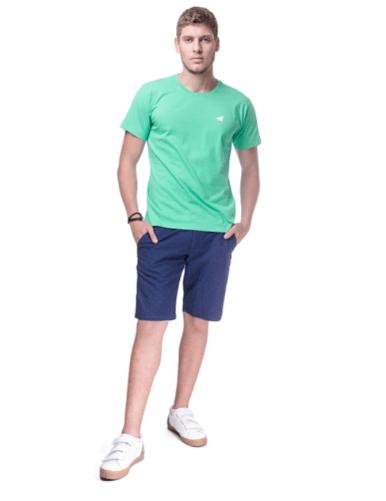 Camiseta Básica Masculina Youth - Verde