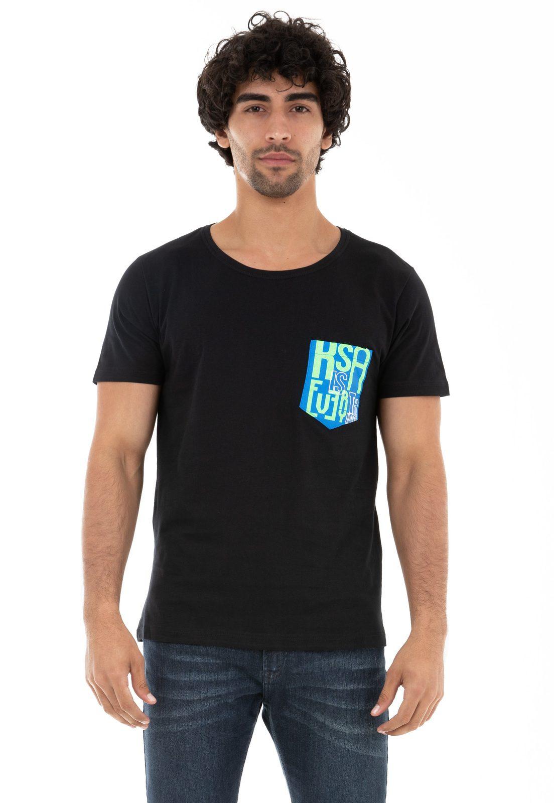 Camiseta Bolso KSA is Everything Preta