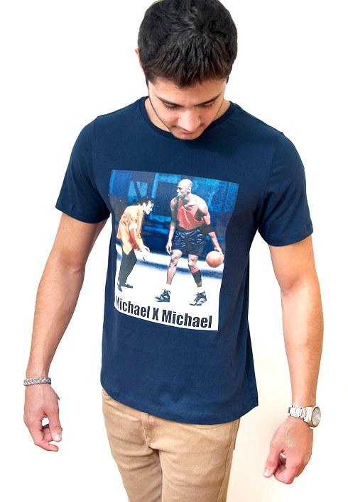 Camiseta Michael x Michael