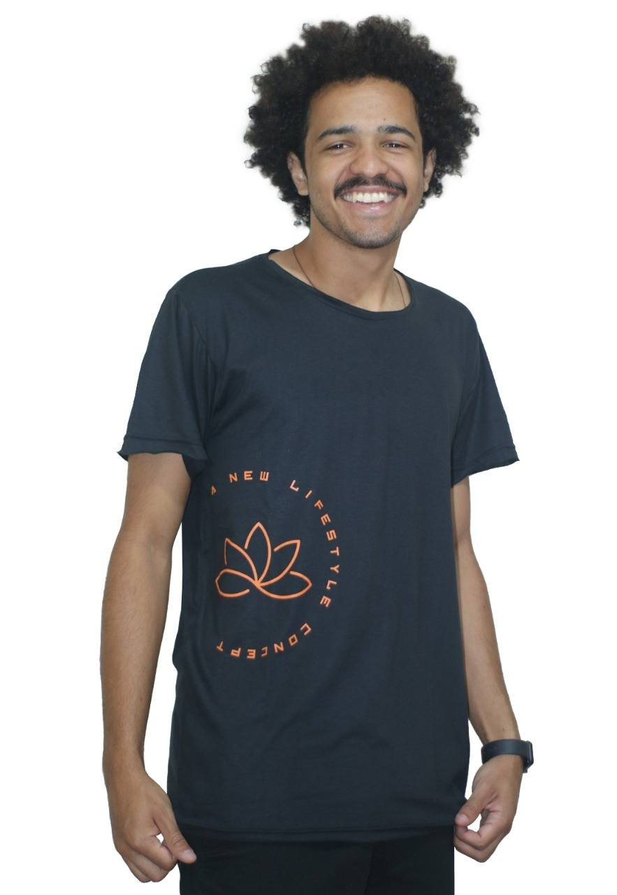 Camiseta Outstanding Lifestyle Concept Preto