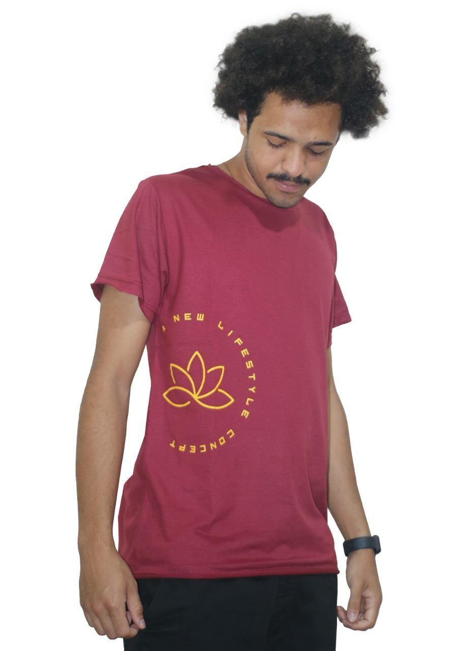 Camiseta Outstanding Lifestyle Concept Vinho