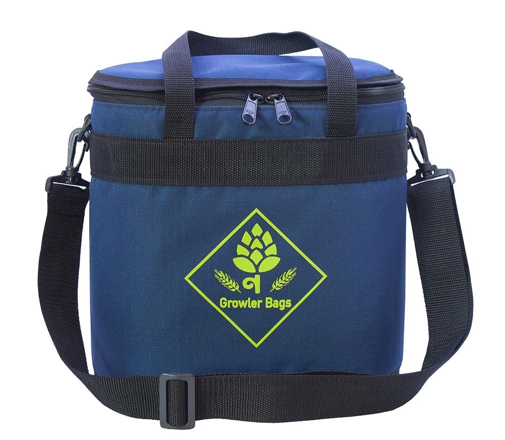 Can Bag Azul Marinho- Bolsa Térmica p/ Latas e Long Necks
