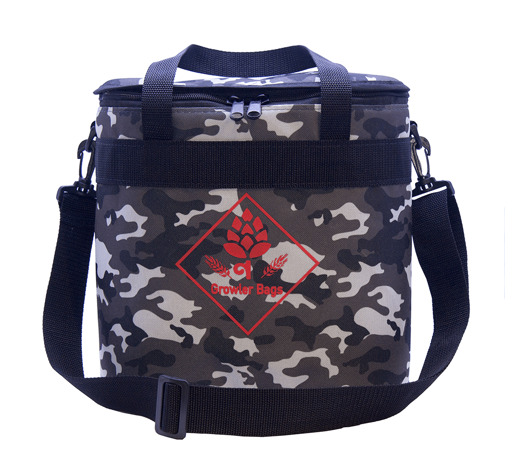 Can Bag Camuflada Urbana - Bolsa Térmica p/ Latas e Long Necks