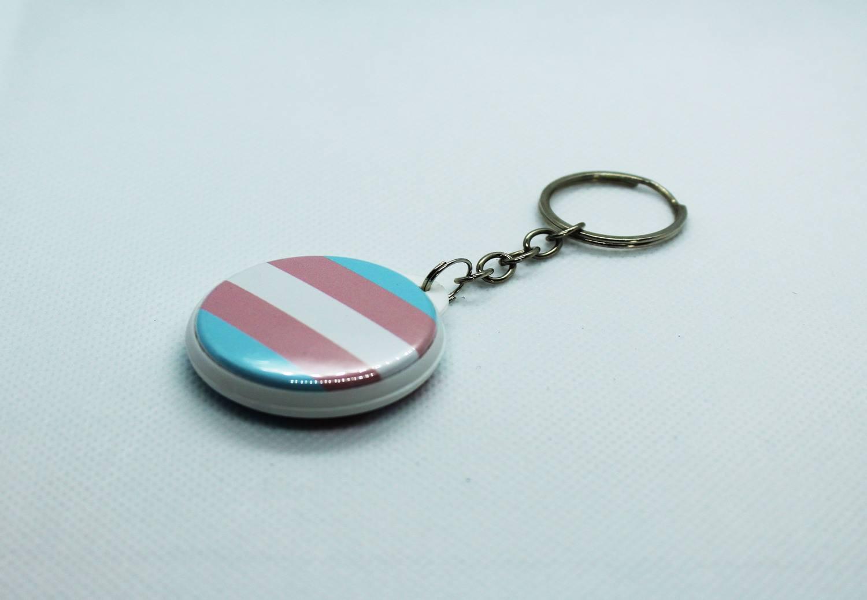 Chaveiro Bandeira do Orgulho Transgênero