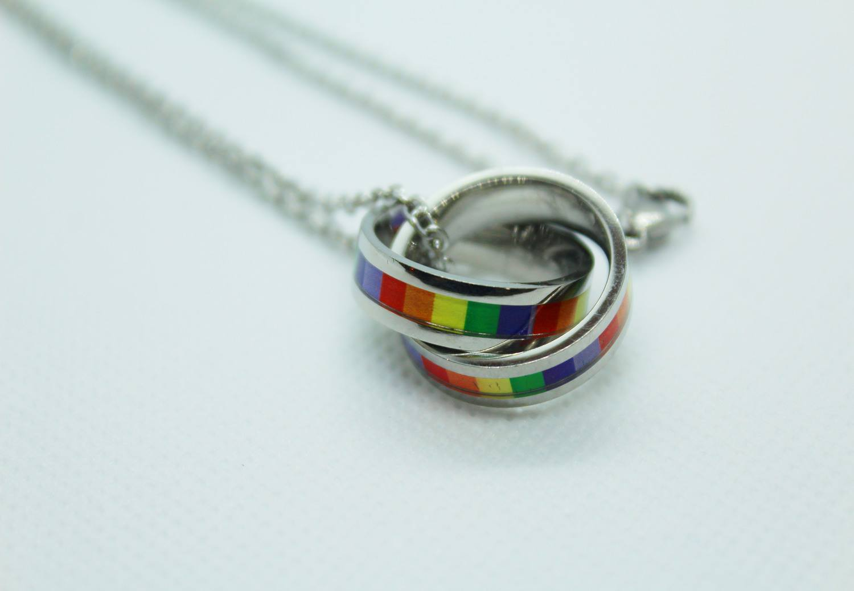 Colar Orgulho LGBTQIA+ Círculos