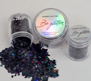 Glitter NY Black