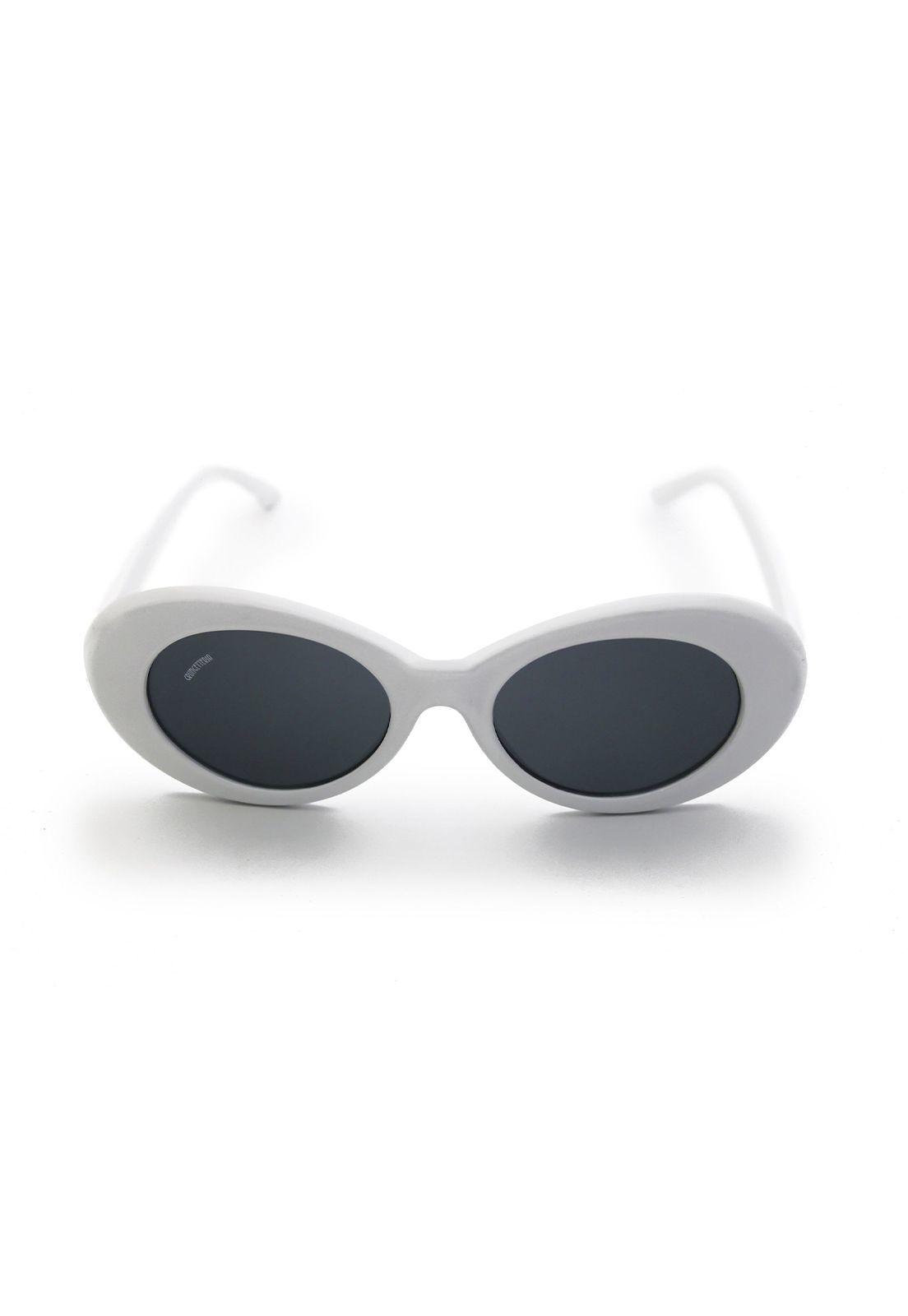 Óculos de Sol Grungetteria Kurt Branco