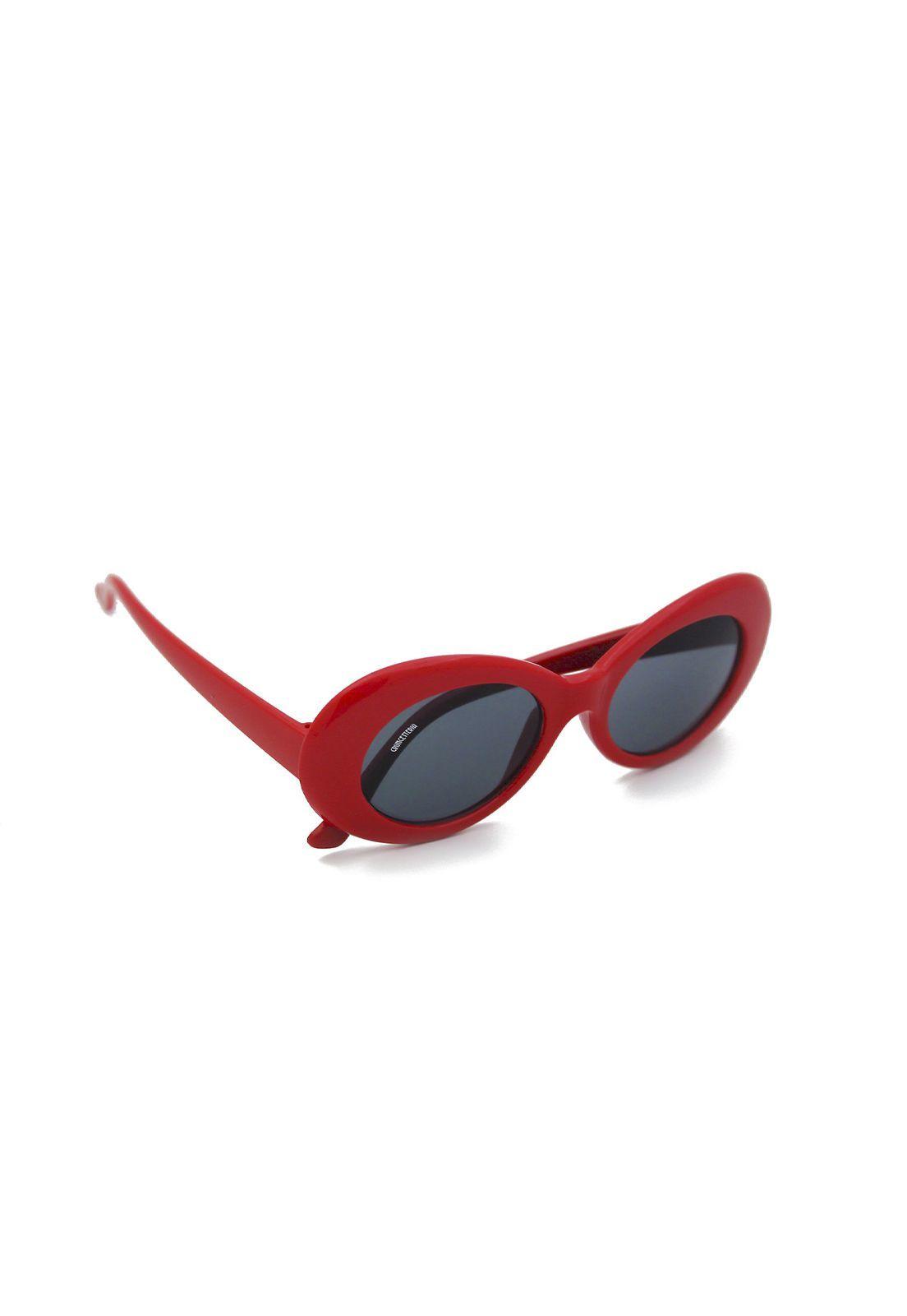 Óculos de Sol Grungetteria Kurt Vermelho