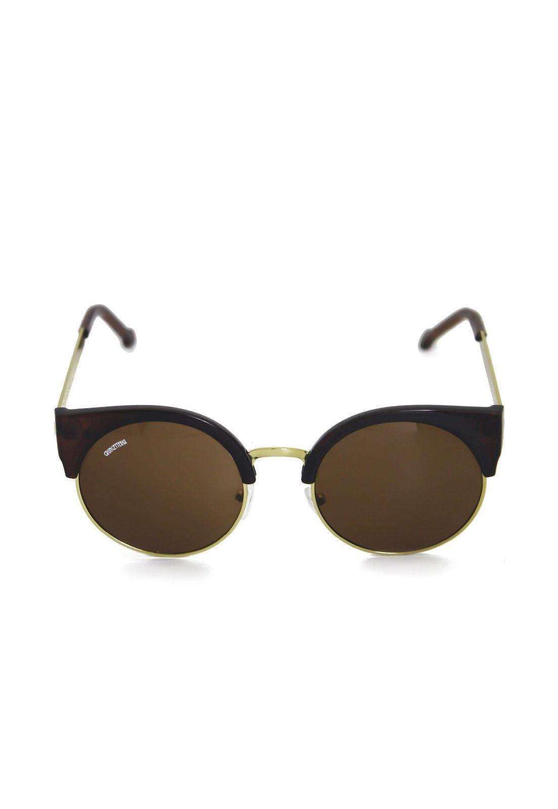 Óculos de Sol Grungetteria Miss Kitty Marrom