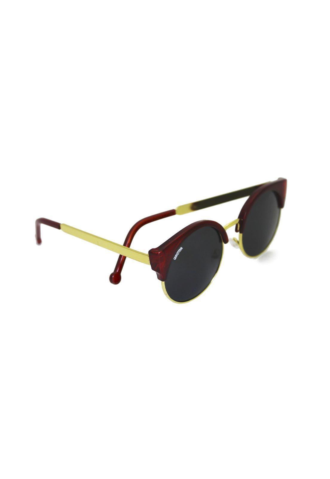 Óculos de Sol Grungetteria Miss Kitty Vinho