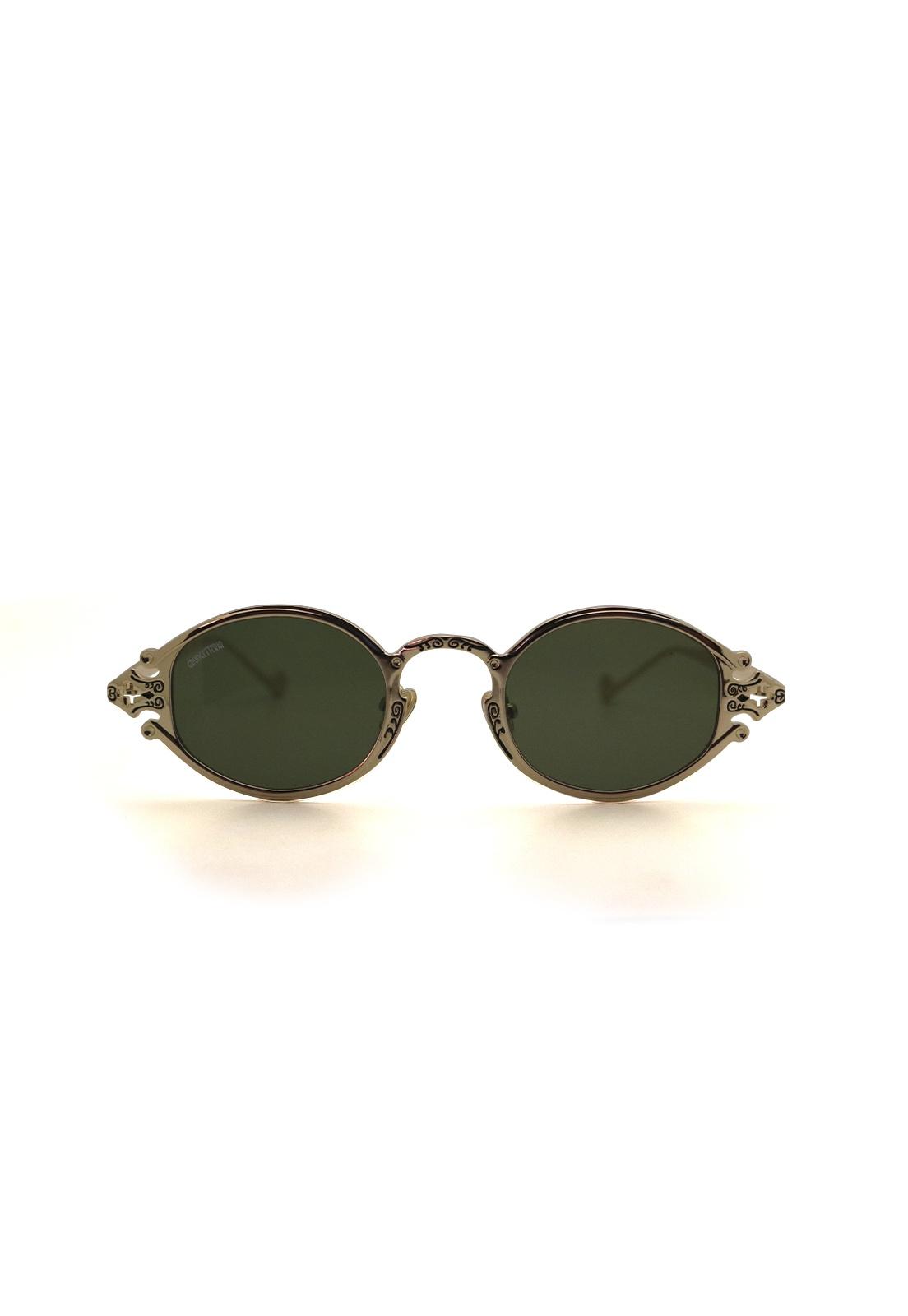 Óculos de Sol Grungetteria Sacro Dourado