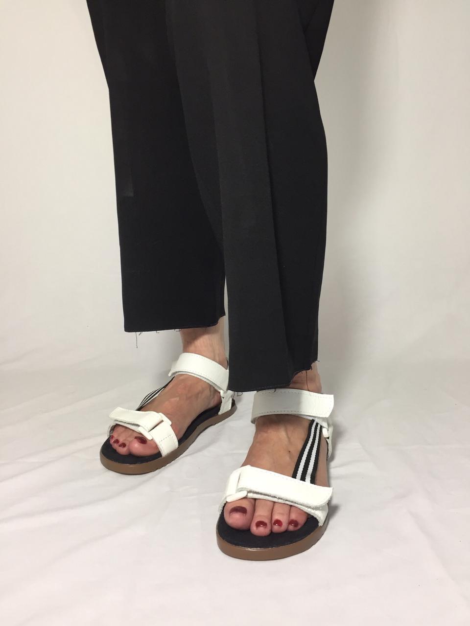 Sandália Papete White