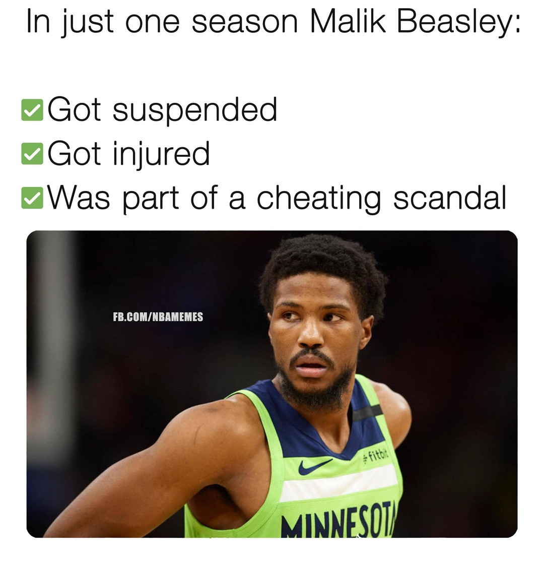 Malik Beasley's wife reacts to his apology for cheating with Larsa Pippen: story in bio.